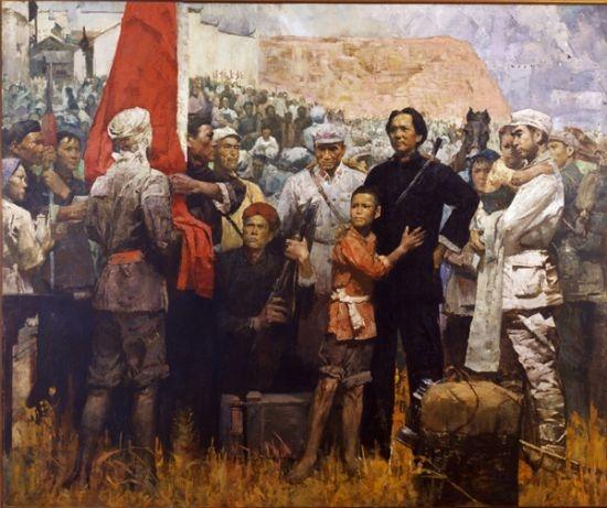 中国革命史诗红旗颂(朗诵:宏军&雨音)