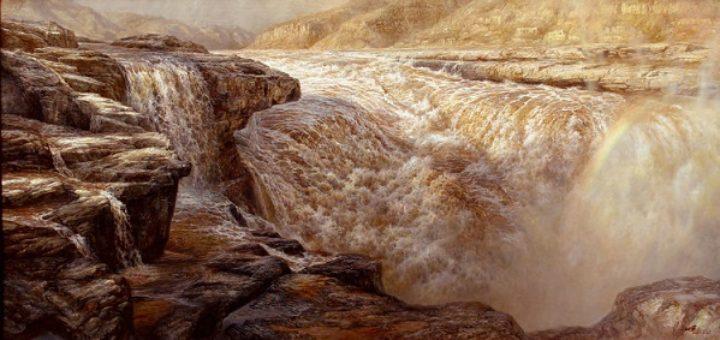 黄河之水天上来(朗诵:雨音&天蚕)