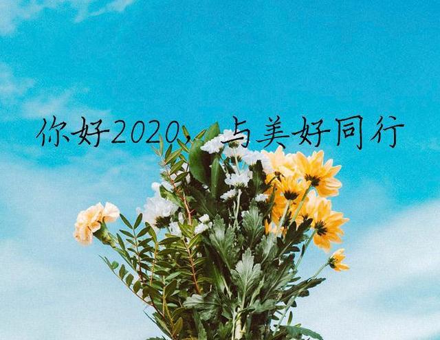 话别2019,你好2020,与美好同行